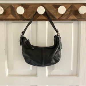 Leather Coach Hobo